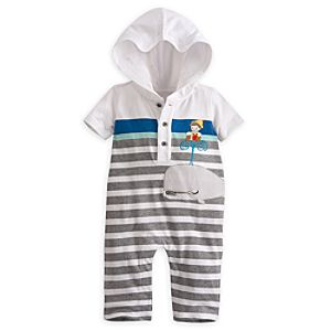 Pinocchio and Monstro Romper for Baby