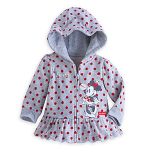Minnie Mouse Hoodie for Baby - Personalizable