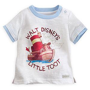 Little Toot Ringer Tee for Baby