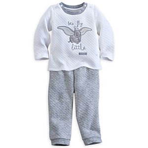 Dumbo Knit Top and Pants Set for Baby