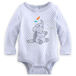 Dumbo Long Sleeve Disney Cuddly Bodysuit for Baby