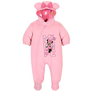 Minnie Mouse Snowsuit for Baby Girls