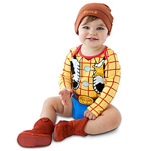Woody Costume Bodysuit and Cap for Infants -- Made With Organic Cotton