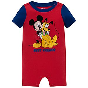 Best Friends Mickey Mouse Tiny Tee Coverall for Baby Boy