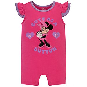 Minnie Mouse Tiny Tee Coverall for Baby Girl