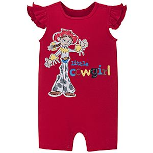 Toy Story Jessie Tiny Tee Coverall for Baby Girl