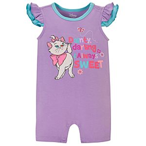 The Aristocats Marie Tiny Tee Coverall for Baby Girl