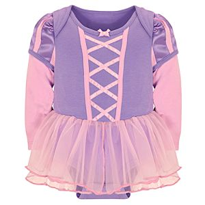 Disney Cuddly Bodysuit Rapunzel Costume for Baby Girls