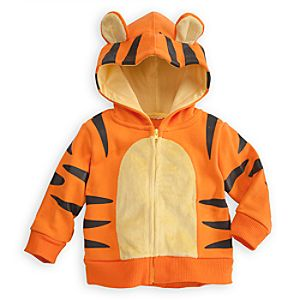 Tigger Hoodie for Baby - Zip Fleece