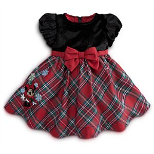 Minnie Mouse Dress for Baby - Holiday