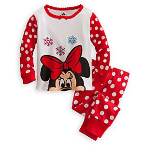 Minnie Mouse PJ Pal for Baby - Holiday