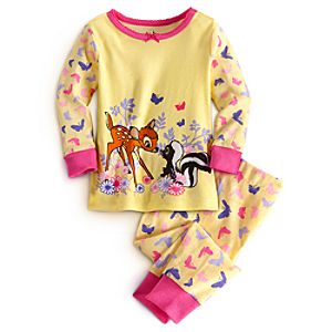 Bambi and Flower PJ Pal for Baby