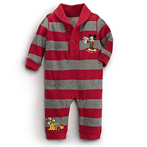 Mickey Mouse Coverall for Baby - Holiday