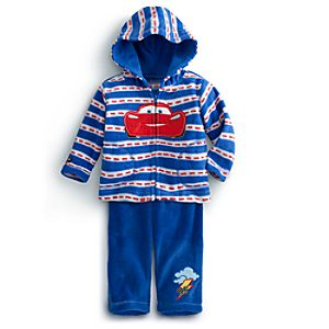 Lightning McQueen Hoodie and Pants Set for Baby