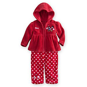 Mickey and Minnie Mouse Hoodie and Pants Set for Baby - Personalizable