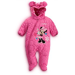 Minnie Mouse Snowsuit for Baby - Personalizable