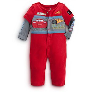 Lightning McQueen Coverall for Baby