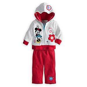 Minnie Mouse Jacket and Pants Set - Personalized