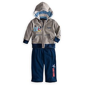 Mickey Mouse Hoodie and Pants Set for Baby - Personalizable