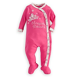 Sleeping Beauty Stretchie Sleeper for Baby