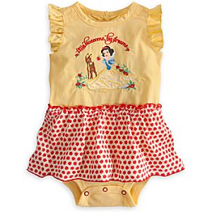 Snow White Disney Cuddly Bodysuit for Baby