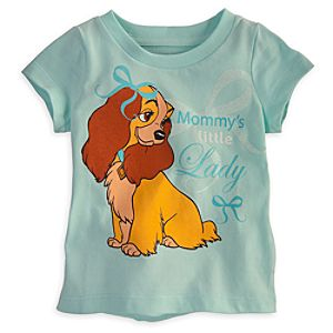 Lady and the Tramp Tee for Baby