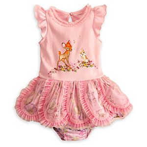 Bambi and Miss Bunny Dress for Baby