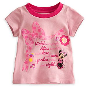 Minnie Mouse Floral Tee for Baby
