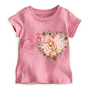 Miss Bunny Tee for Baby - Bambi