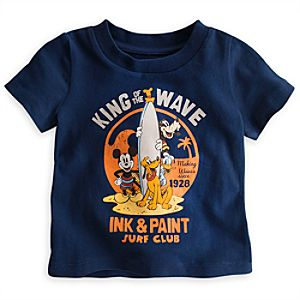 Mickey Mouse and Friends Surf Tee for Baby
