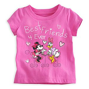 Minnie Mouse and Daisy Duck Tee for Baby