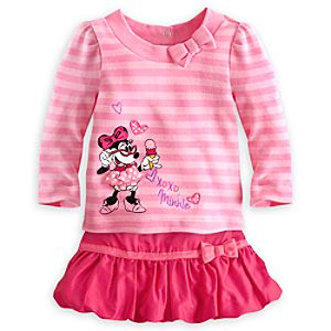 Minnie Mouse Skirt Set for Baby