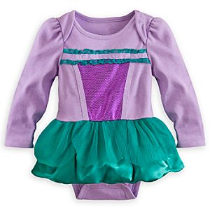 Ariel Cuddly Costume Bodysuit for Baby