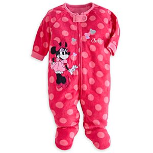Minnie Mouse Blanket Sleeper for Baby - Personalized