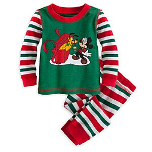 Mickey Mouse & Pluto PJ Pal for Baby
