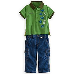 A Bugs Life Polo Shirt and Pants Set for Baby - Tuck and Roll