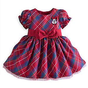 Minnie Mouse Holiday Dress