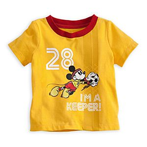 Mickey Mouse Soccer Tee for Baby