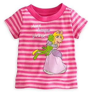 Miss Piggy and Kermit Tee for Baby
