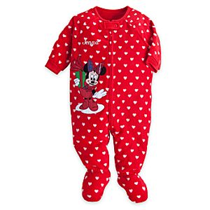 Minnie Mouse Blanket Sleeper for Baby - Personalizable