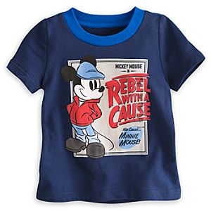 Mickey Mouse Rebel Tee for Baby