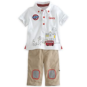 101 Dalmatians Polo Shirt and Pants Set for Baby - Personalizable