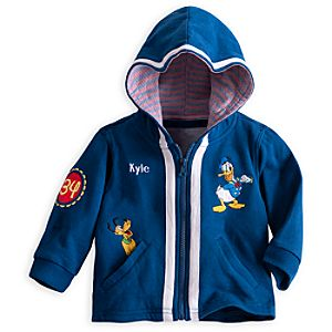 Donald Duck Hooded Jacket - Personalizable