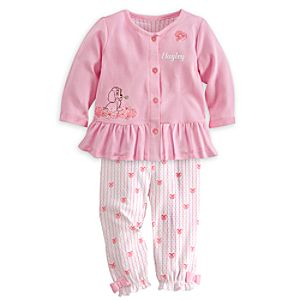 Lady Dress and Leggings Set for Baby - Personalizable