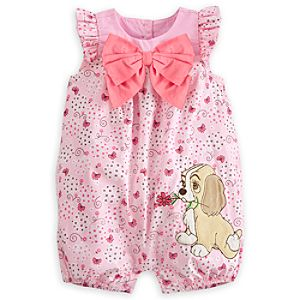 Lady Woven Romper for Baby