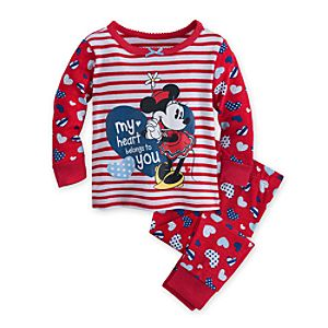 Minnie Mouse Heart PJ Pal for Baby
