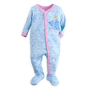 Cinderella Stretchie Sleeper for Baby