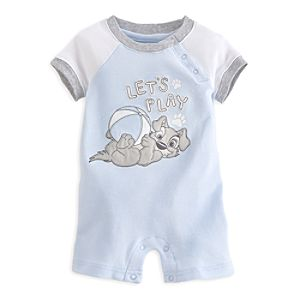 Tramp Short Romper for Baby