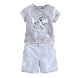 Tramp Tee and Shorts Set for Baby