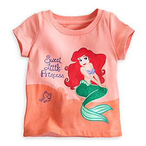 Ariel Glitter Tee for Baby